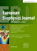 eur biophys j